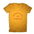 French Fries And Fairways Golf T-Shirt