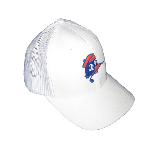 Circles Golf - All White Mesh Chirps Logo Hat