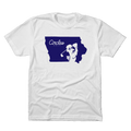 Iowa Circles Golf Logo T-Shirt