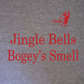 Jingle Bells Bogey's Smell Christmas Golf T-Shirt