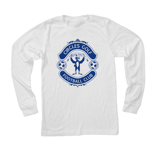 Circles Golf Football Club Soccer - Long Sleeve T-Shirt