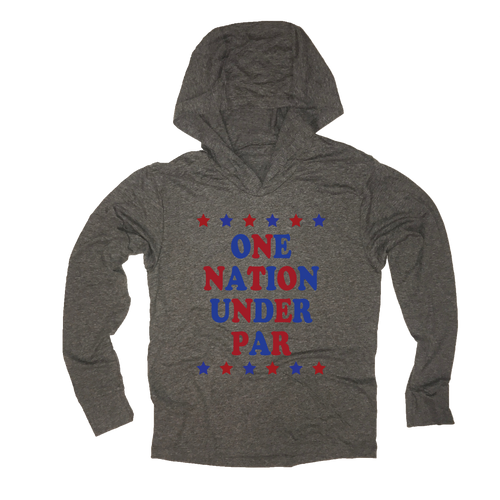 One Nation Under Par - USA Golf - Thin Hoodie