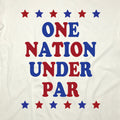 One Nation Under Par - USA Golf T-Shirt