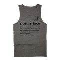 Putter Face Golf Tank Top
