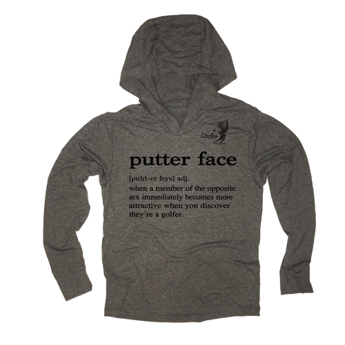 Putter Face Golf Thin Hoodie