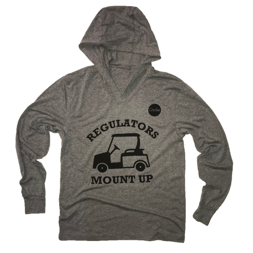 Regulators Mount Up - Thin Hooded Golf Sweatshirt