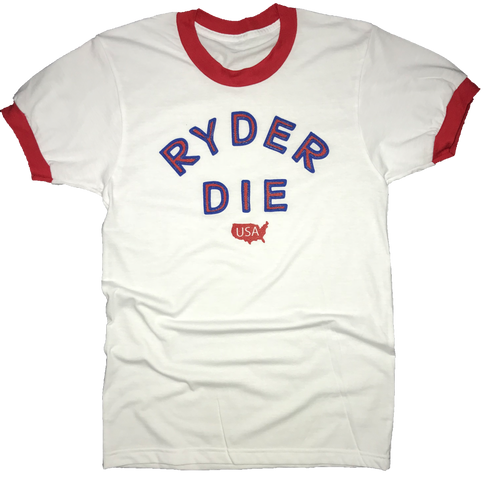 Ryder Die USA Golf T-Shirt