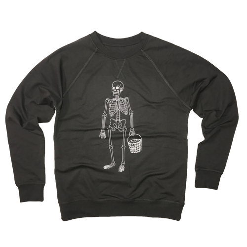 Skeleton with Range Balls - Lightweight Sweatshirt
