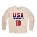 USA Golf 18 Holes Long Sleeve T-Shirt