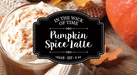 Pumpkin Spice Latte Candle