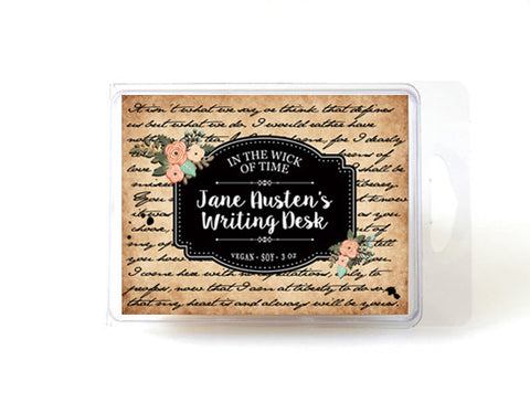 Jane Austen's Writing Desk Wax Melt