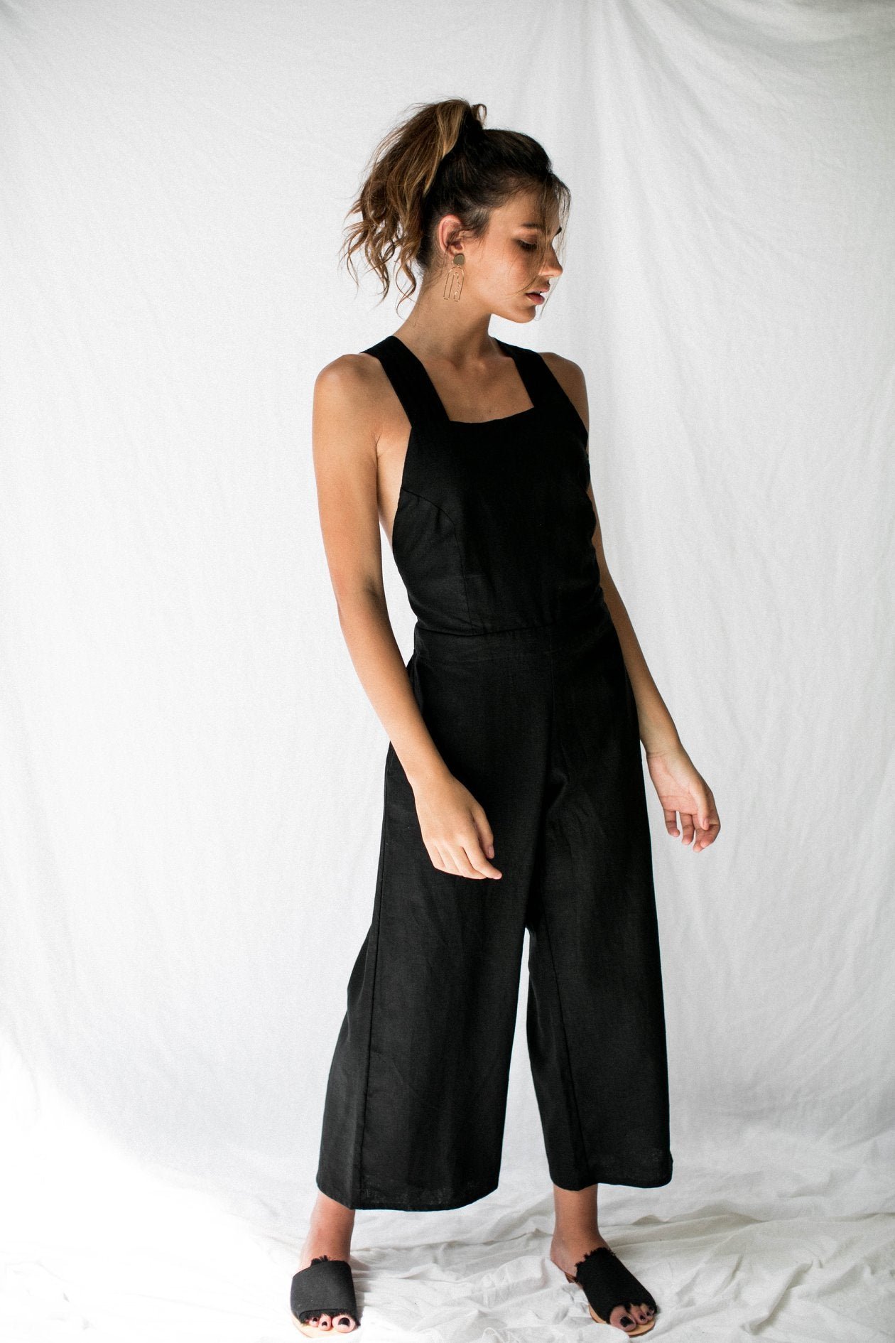 Valentina Jumpsuit Black