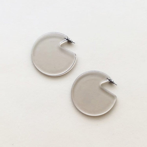 Clare Earrings Lucite