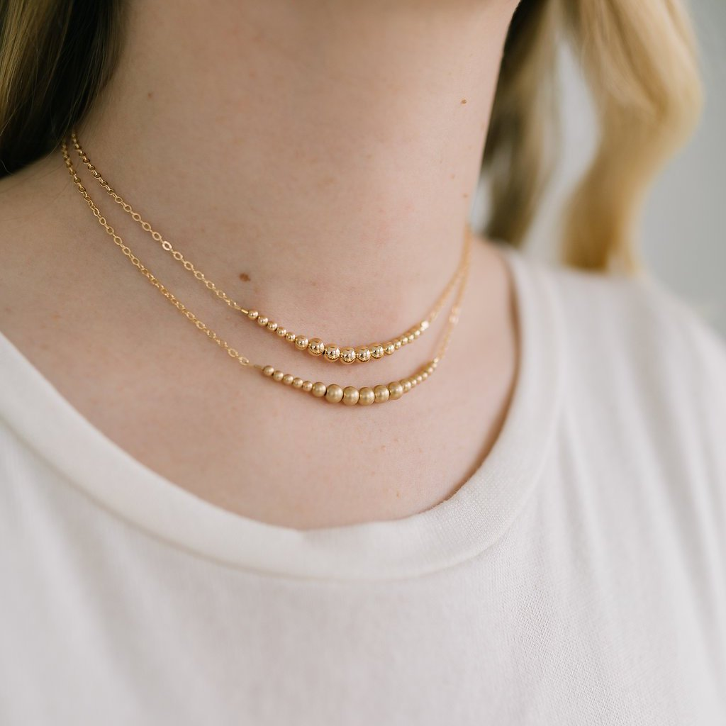 Gold {matte} Choker Necklace