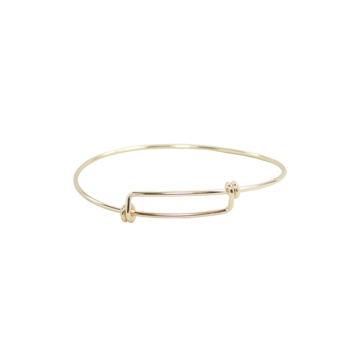 Adjustable Adult Bangle Bracelet