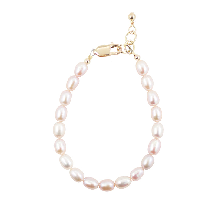 Blush Pearl Adult Bracelet (8MM beads)
