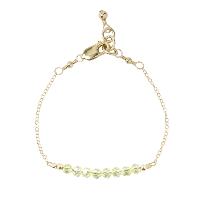 Buttercup Adult Chain Bracelet (4MM beads)