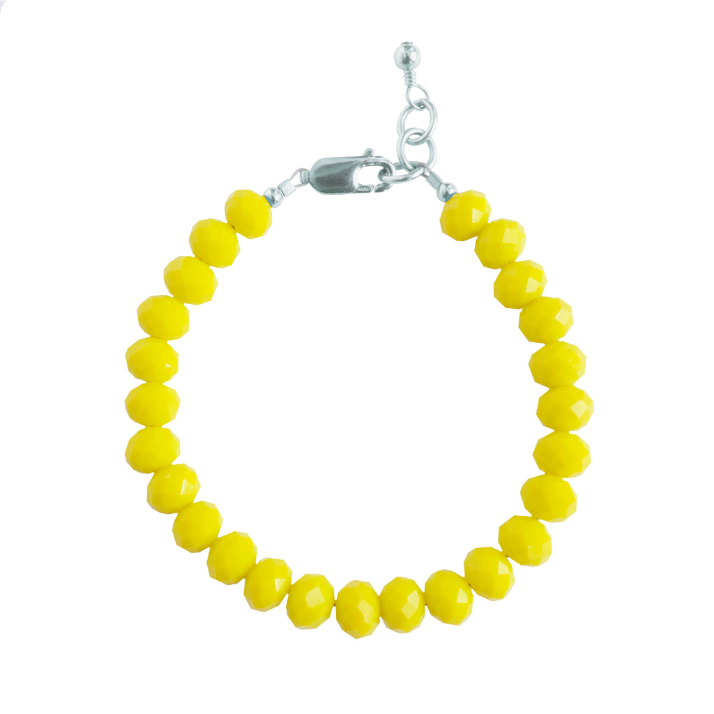 Canary Adult Bracelet (8MM beads)