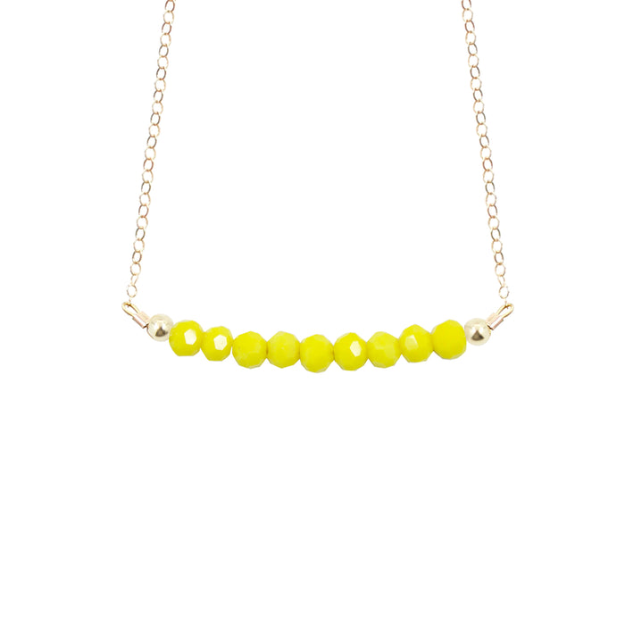 Canary Choker Necklace