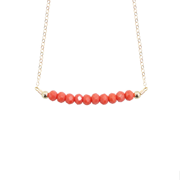Coral Choker Necklace