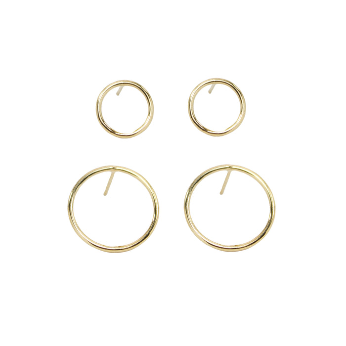 Encircle Stud Earrings