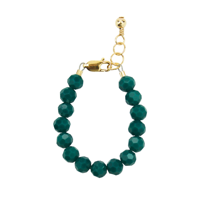 Evergreen Baby Bracelet (6MM beads)