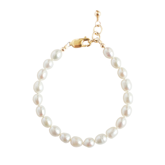 Freshwater Pearl Adult Bracelet (8MM beads)