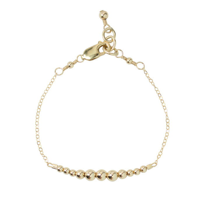Gold {shiny} Adult Chain Bracelet