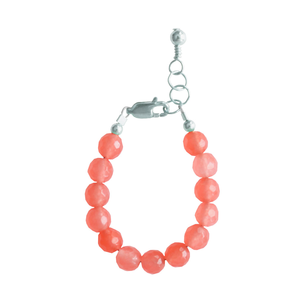 Grapefruit Baby Bracelet (6MM beads)