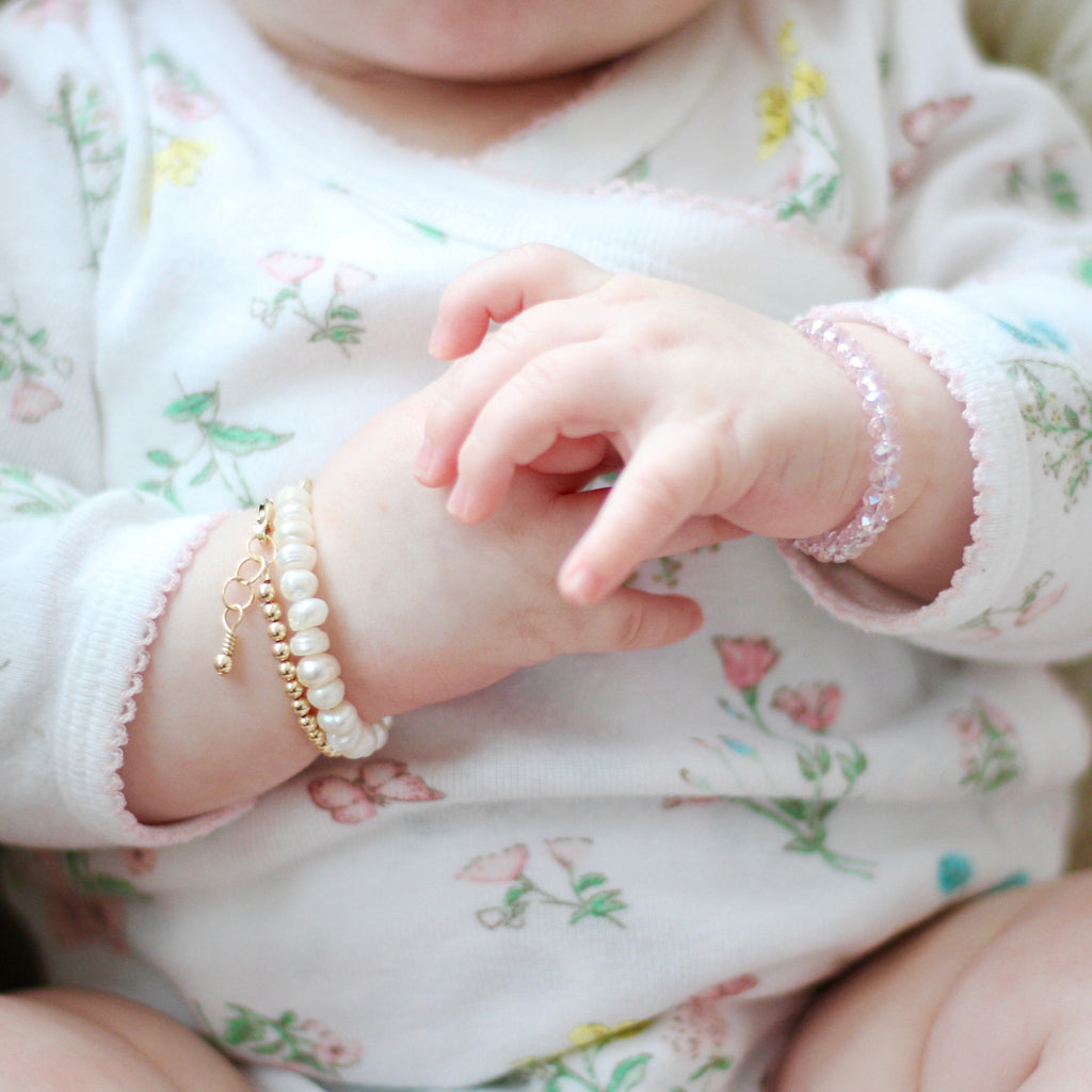 Blossom Baby Bracelet (4MM beads)