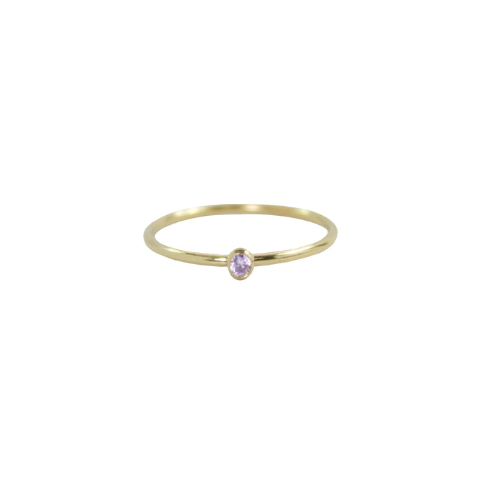 June Birthstone Ring