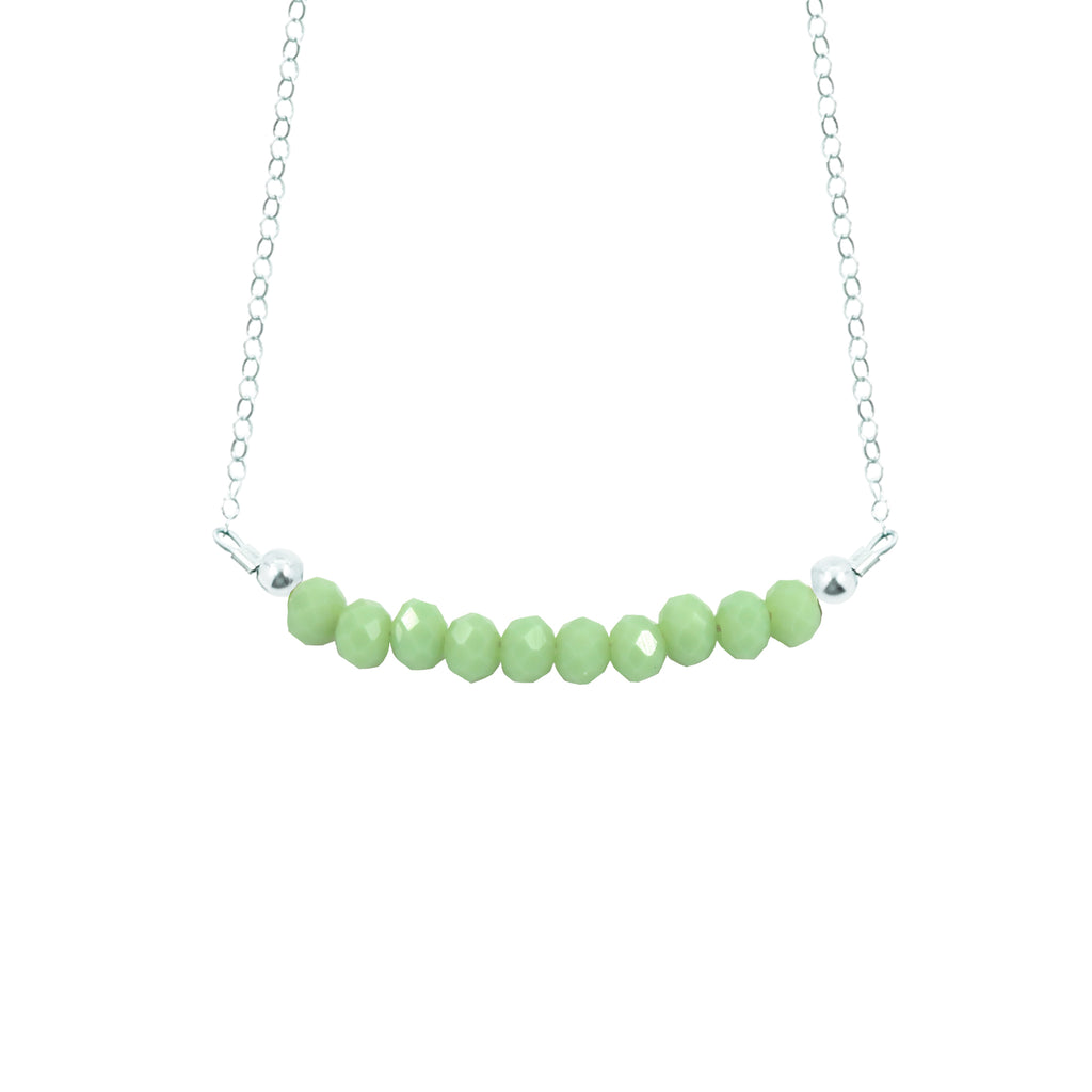 Kiwi Choker Necklace