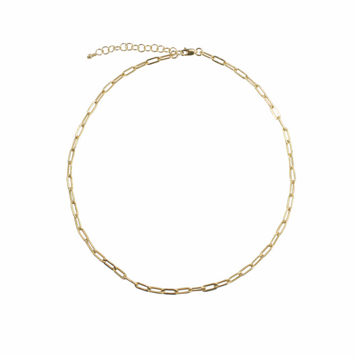 Loyalty Choker Necklace (9MM Links)