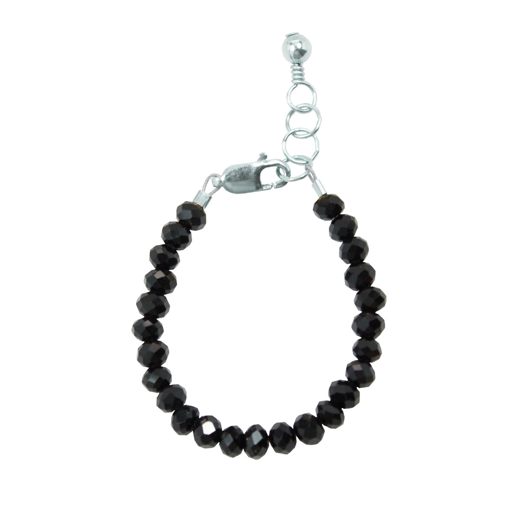 Midnight Baby Bracelet (4MM beads)