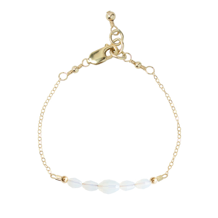Mist Adult Chain Bracelet (4MM + 6MM beads)