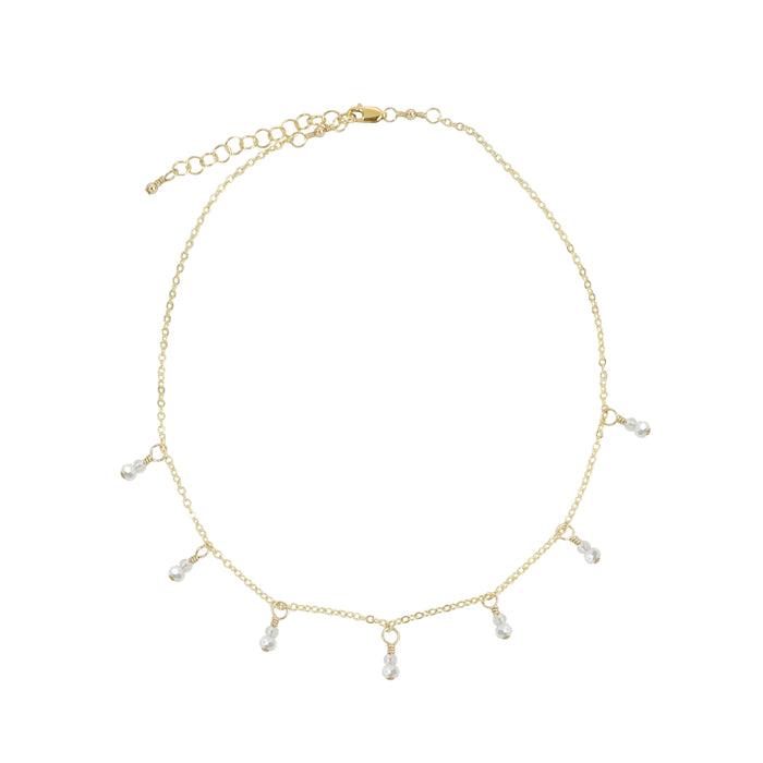 Mist Fringe Necklace