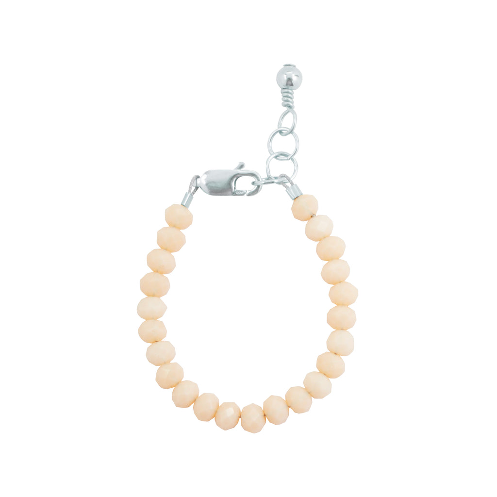 Seashell Baby Bracelet (4MM beads)