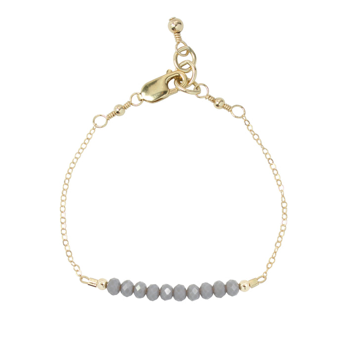Pebble Adult Chain Bracelet (4MM beads)