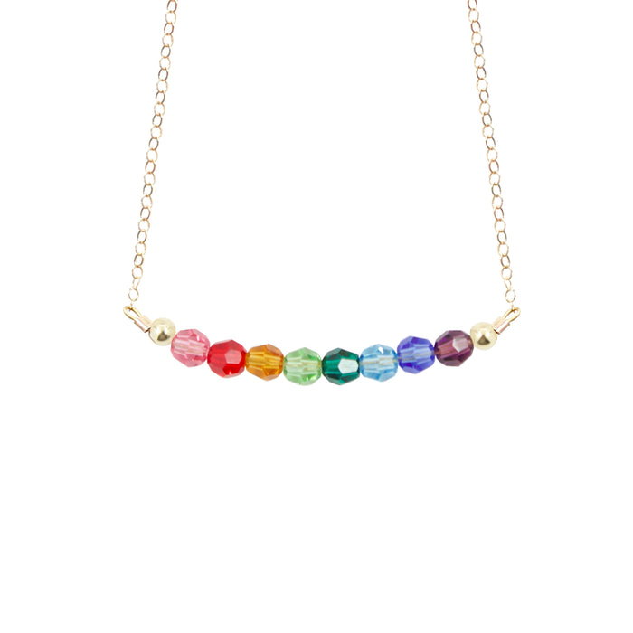 Rainbow Choker Necklace