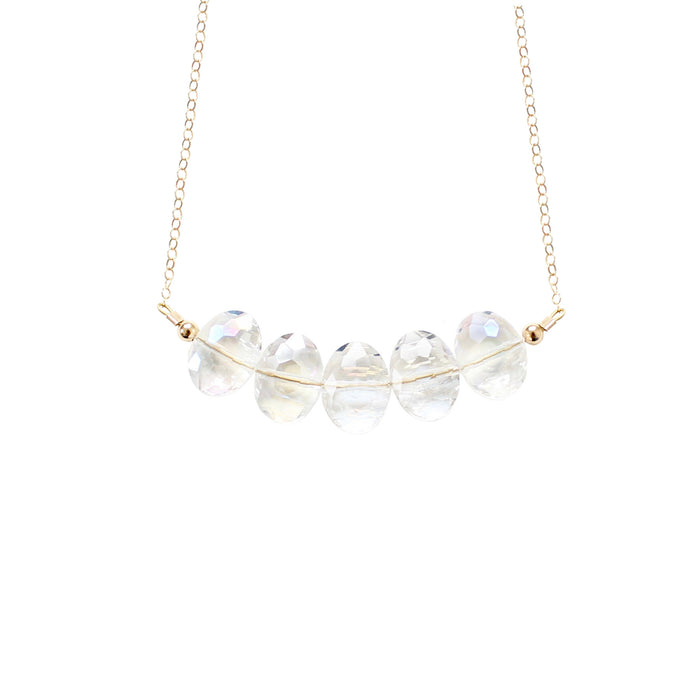 Rondelle Crystal Necklace