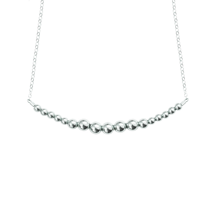 Silver {shiny} Choker Necklace