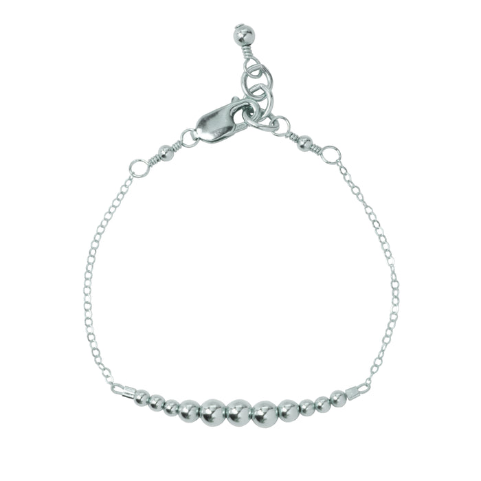 Silver {shiny} Adult Chain Bracelet