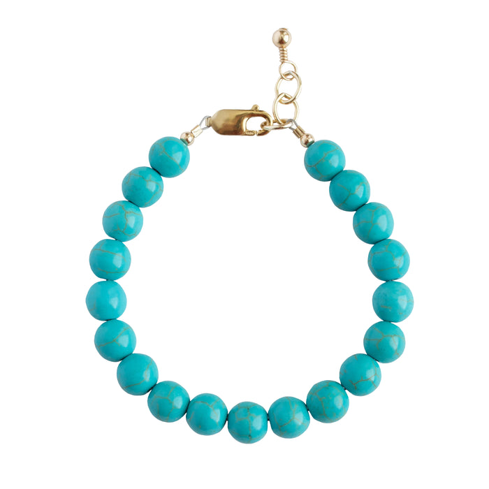 Turquoise Adult Bracelet (8MM beads)