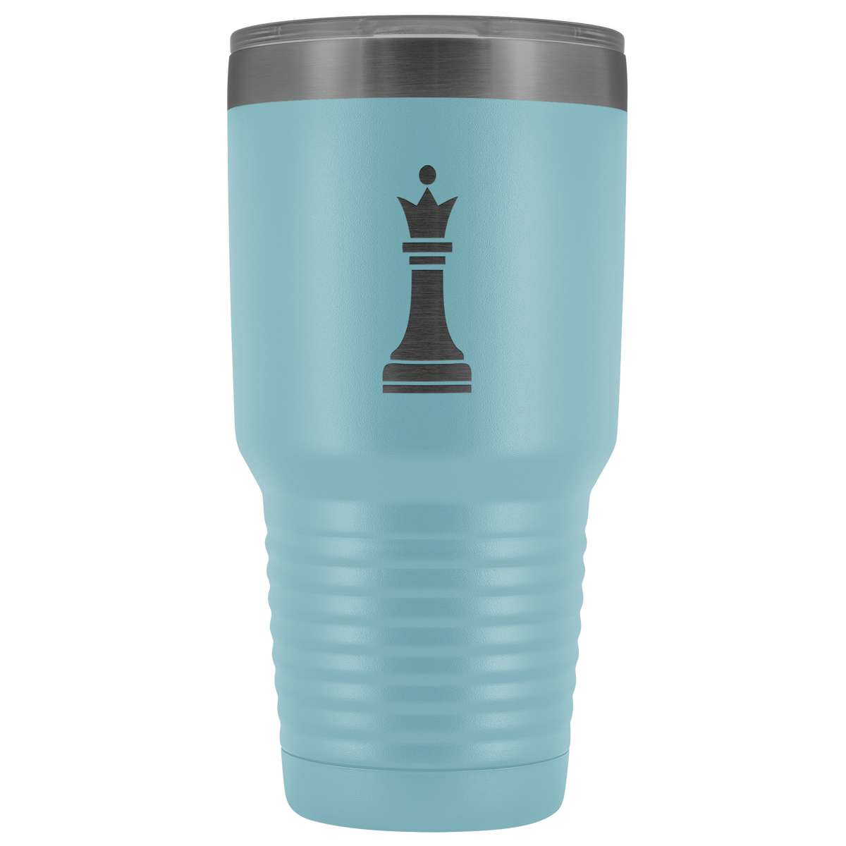 Laser etched Queen 30 Ounce stainless steel Vacuum insulated hot and cold beverage Tumbler