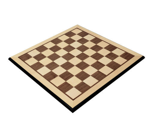 "Stunning Maple Chess Board with 2.125"" Squares"