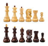 Zagreb Wooden Chess Pieces