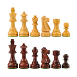 French Wood Chess Pieces
