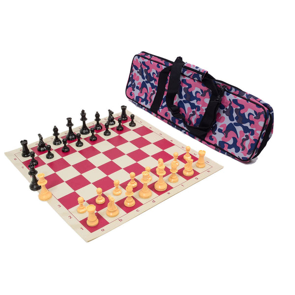 Quality Tournament Chess Set Combo