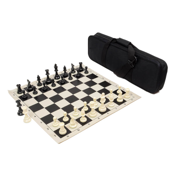 Heavy Tournament Chess Set Combo