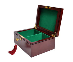 Premium Wooden Chess Box - Mahogany